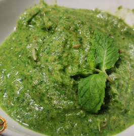 Green Chutney | Mint Chutney Recipe