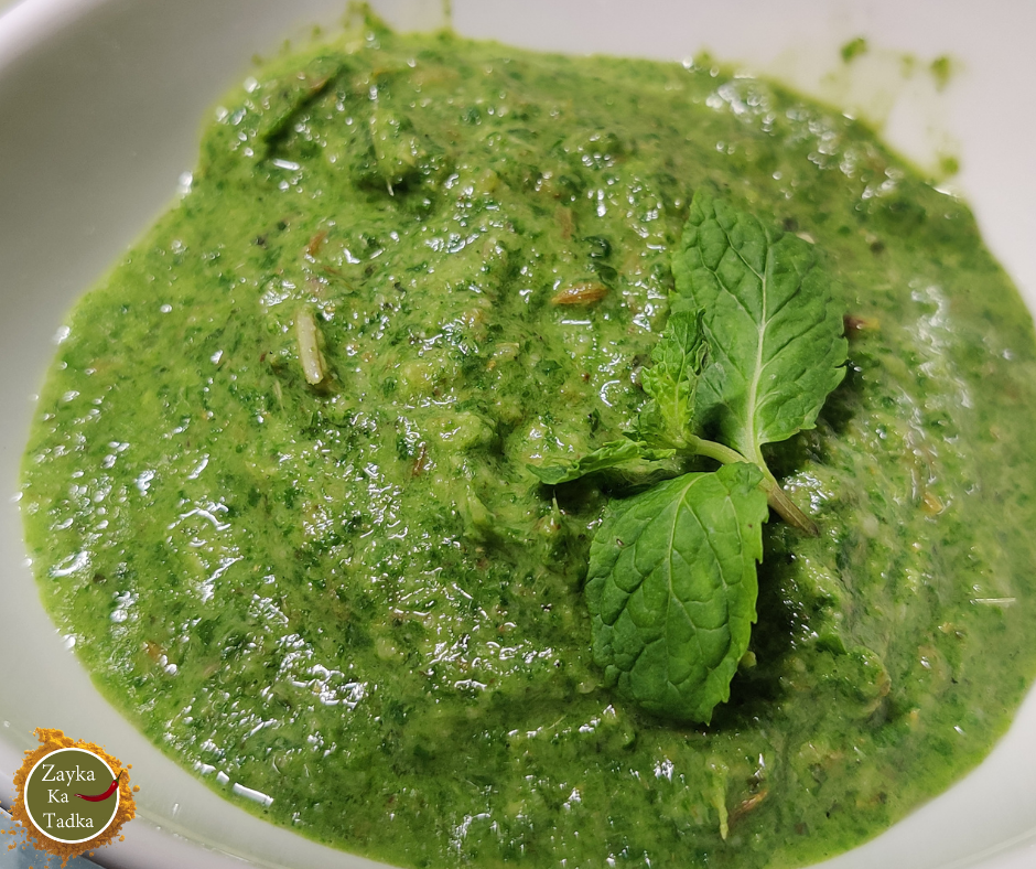 Green Chutney | Mint Chutney Recipe