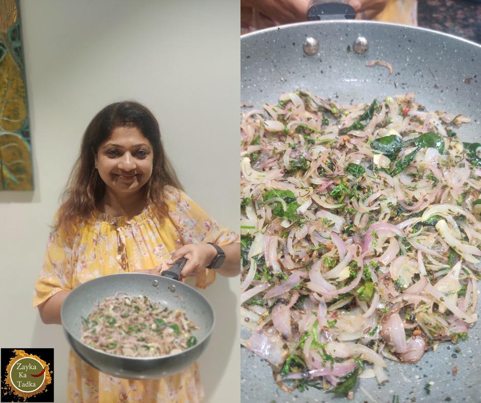 Kasuri Methi Pyaaz Sabji Recipe
