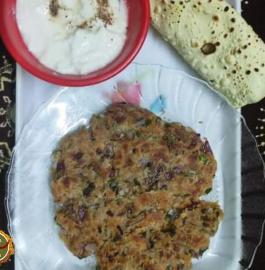 Koki | Sindhi Koki Recipe