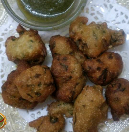 Methi Vada Recipe