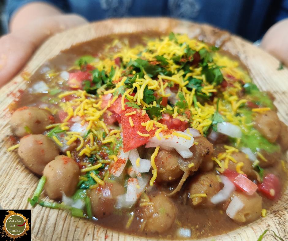 Chole Aloo Tikki Chaat | Delhi Ki Street Style Chaat Recipe