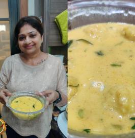 Rasiya Muthiya | Bhaat Na Rasawala Muthia Recipe