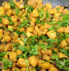 Aloo Barada Sabji | Aloo Sabji Recipe