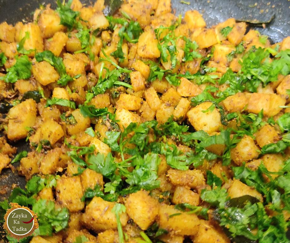 Aloo Barada Sabji   Aloo Sabji Recipe