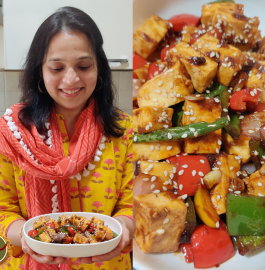 Chili Garlic Paneer | Dry Chili Garlic Paneer Recipe