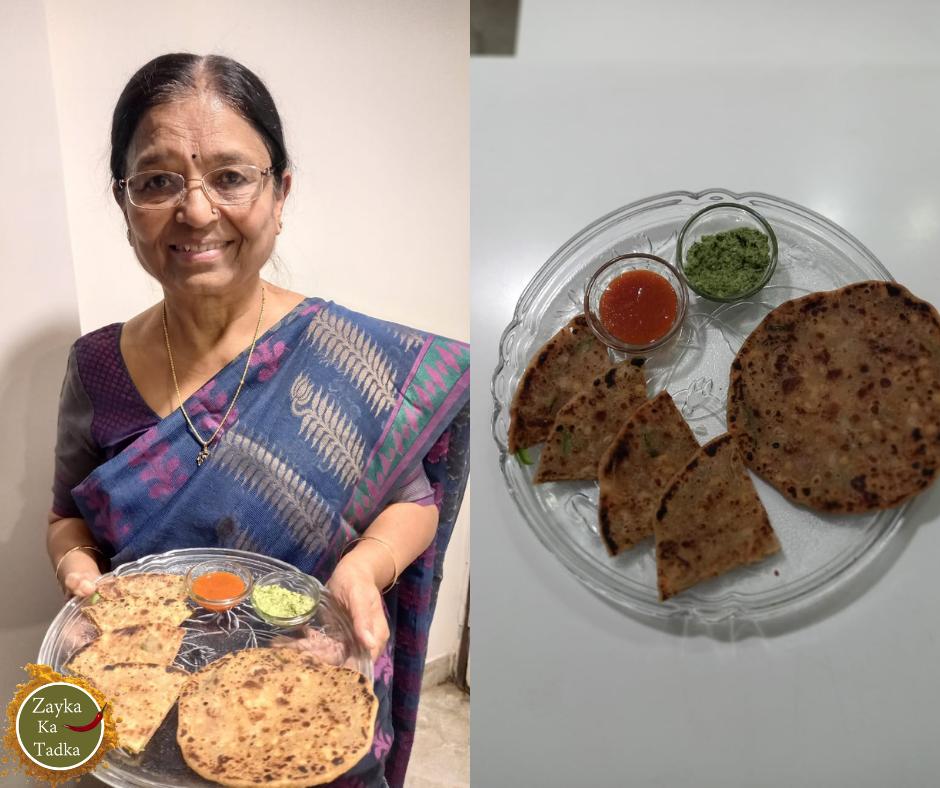 Crispy Jaadui Paratha Recipe