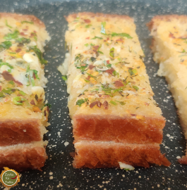 Garlic Bread | Cheesy Garlic Bread Recipe