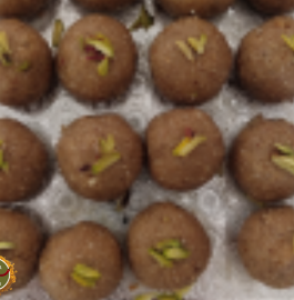 Gondh And Til Ke Laddoo Without Sugar Recipe