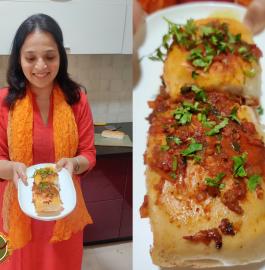 Masala Pav | Mumbai Famous Street Food Recipe
