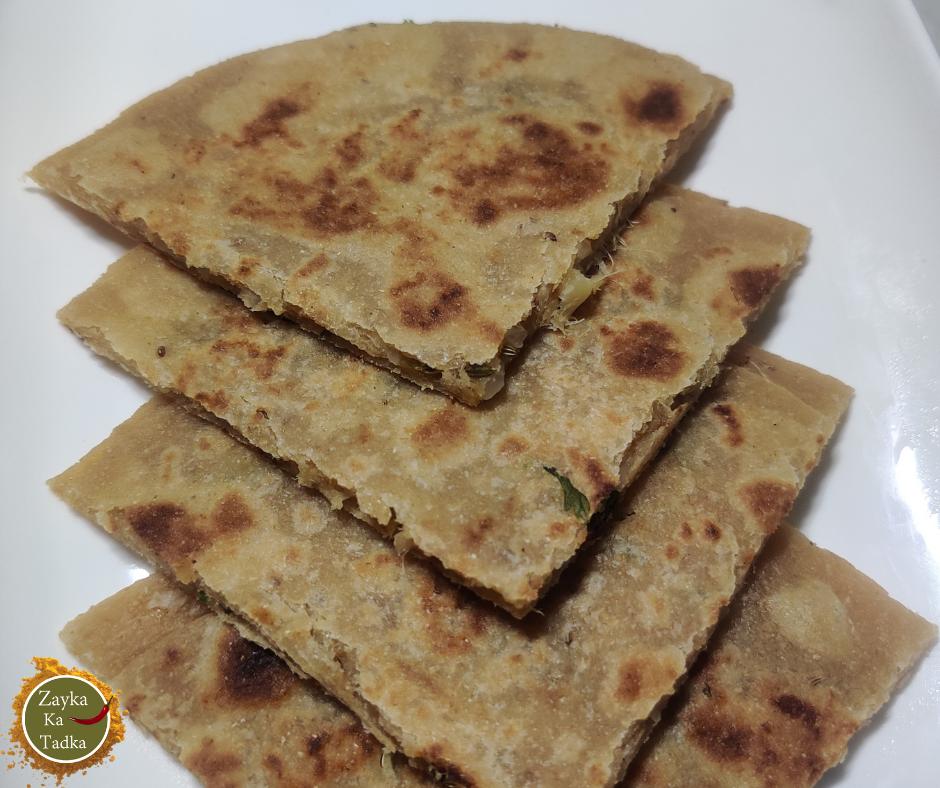 Mooli Ka Paratha   Radish Paratha Recipe