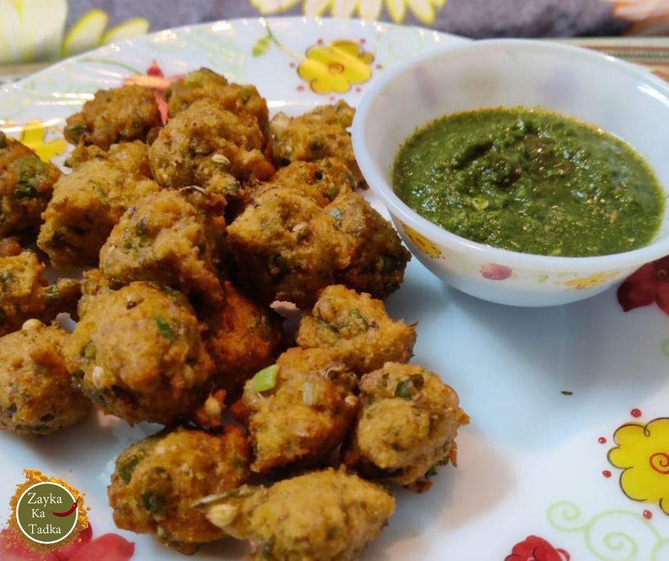Moong Dal Pakode Recipe