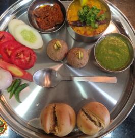 Rajasthan Special Dal Baati In OTG Recipe