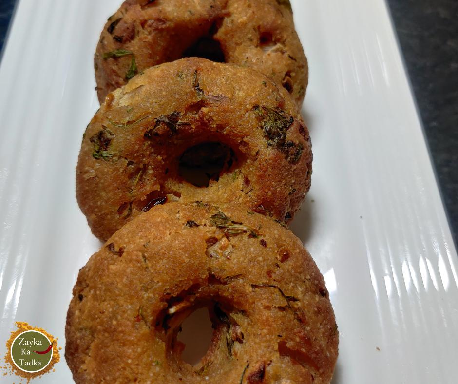 Bread Medu Vada In Air fryer | Instant Medu Vada Recipe