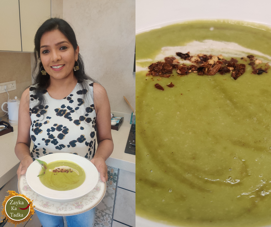 Green Peas Soup | Matar Soup Recipe