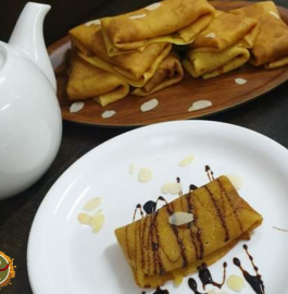 Madakkusan | Madaksan | Coconut Filled Crepes Recipe