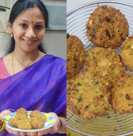 Masala Vada With Chole Recipe