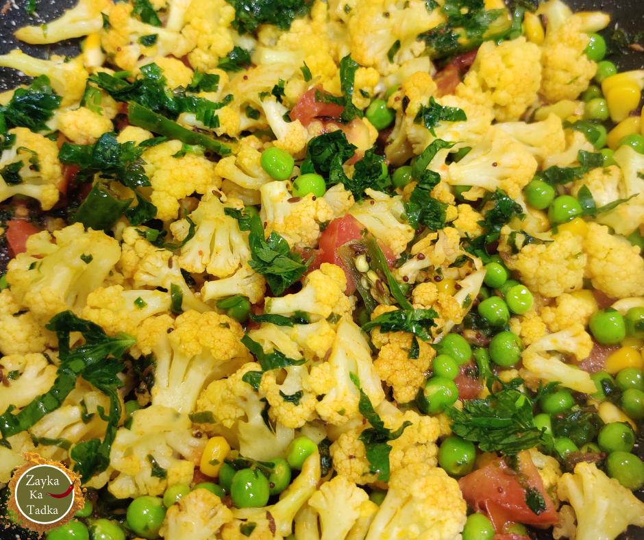 Methi Gobhi ki Sabji Recipe