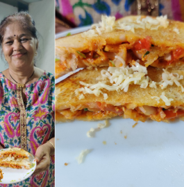 Chatpata Cheesy Sandwich | Mumbai Style Recipe