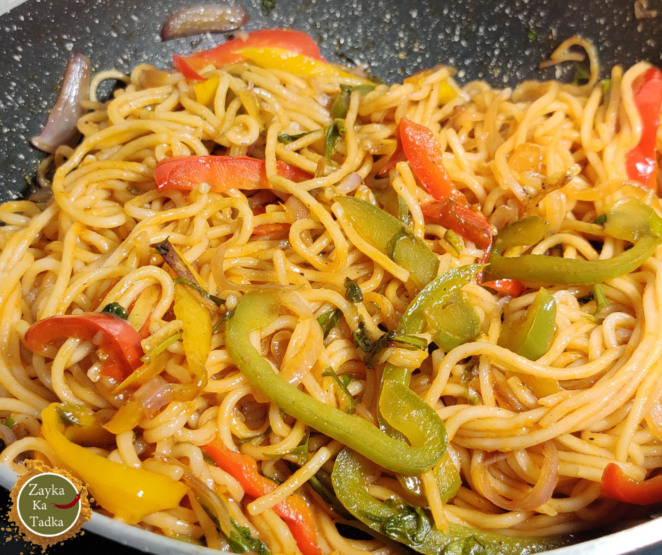 Chili Noodles | Weekend Special Dinner Recipe