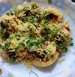 Sev Puri | Mumbai Chowpatty Style Recipe