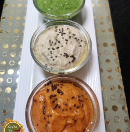 Tri Colour Chutney | Republic Day Special Recipe