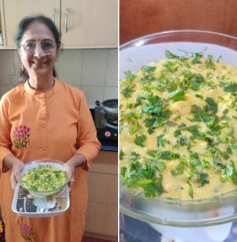 Makai No Chevdo | Makai Upma Recipe