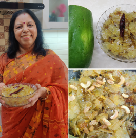 Raw Papaya Chutney | Plastic Chutney Recipe