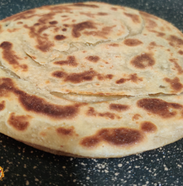 Lachha Paratha | Whole Wheat Lachha Paratha Recipe