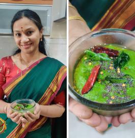 Palak Chutney | Palakura Pachadi Recipe