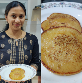 Banana Oats Pancake Recipe