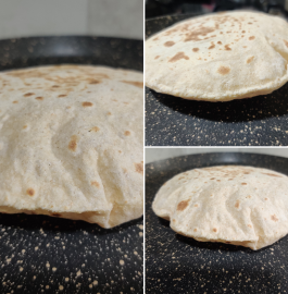 Roti | Whole Wheat Roti Recipe