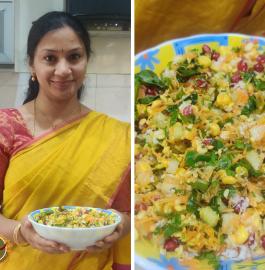 Kosambari | Hesaru Bele Koshambari Recipe Recipe