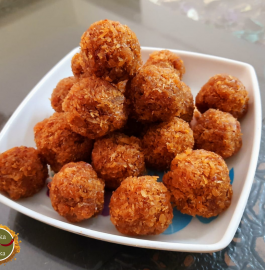 Coconut Jaggery Laddu Recipe