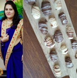 Choco Coco Bites | Chocolate Coco Bites Recipe