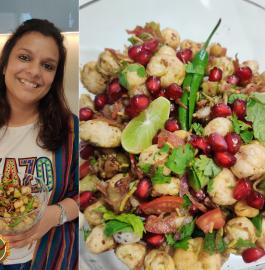 Makhana Bhel | Fox Nuts Bhel | Healthy Chaat Recipe