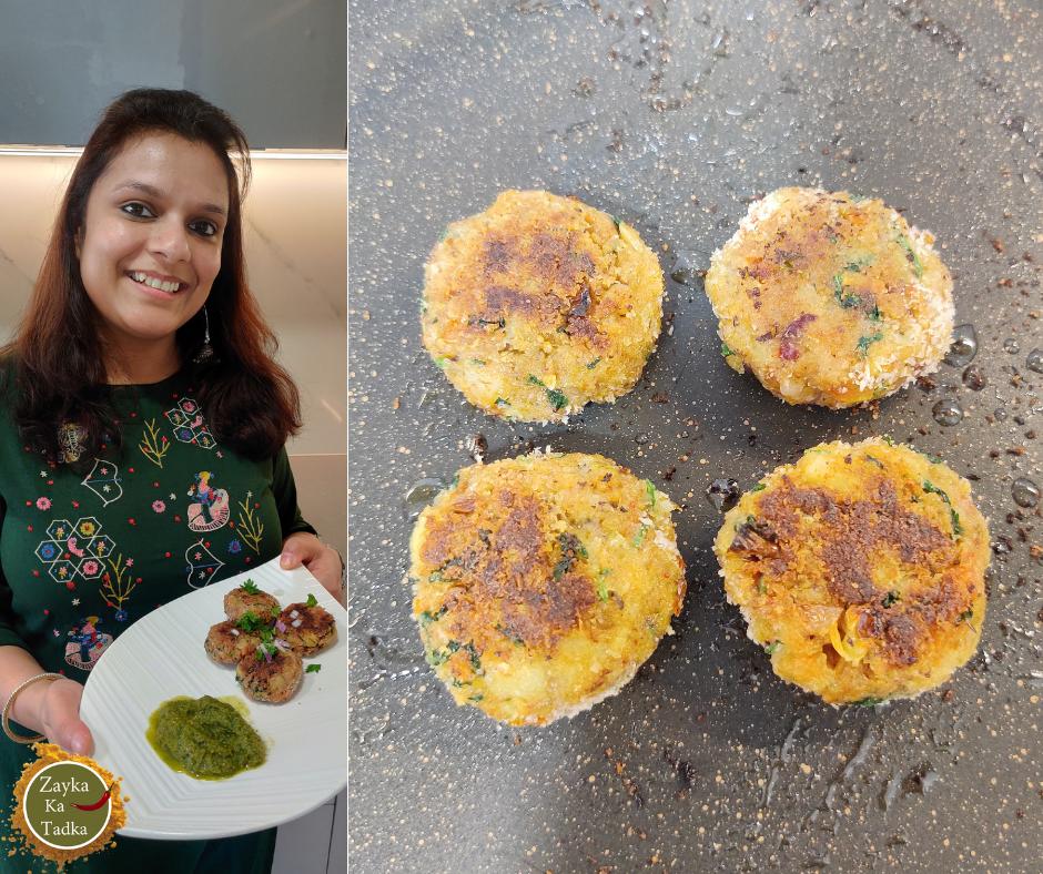 Bhujiya Tikki | Bhujia Tikki Recipe