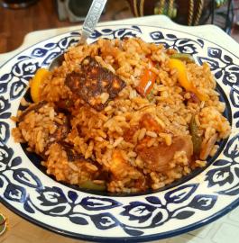 Paneer Chili Fried Rice Recipe