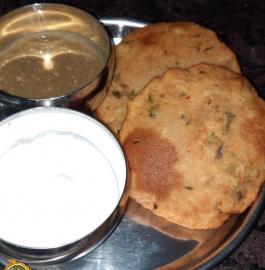 Aloo Poori | Aloo Masala Poori Recipe