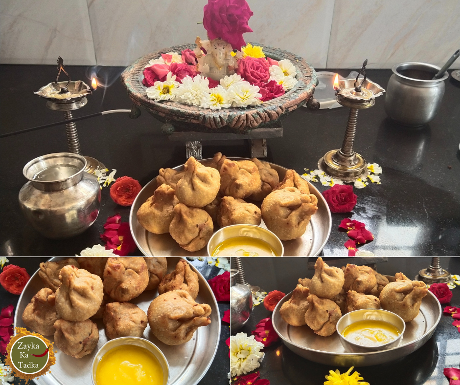 Modak | Fried Modak Recipe