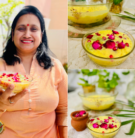 Sabudana Fruit Custard Recipe