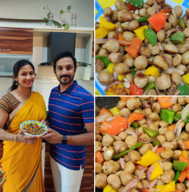 Soya Manchurian | Soya Veg Snack Recipe