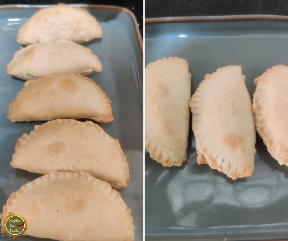 Gujhiya In Air Fryer Recipe