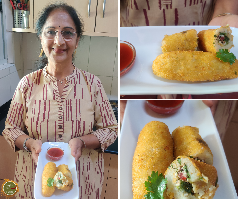 Veg Kabab Roll Recipe