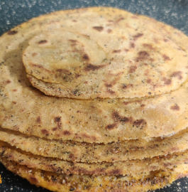 Masala Laccha Paratha Recipe