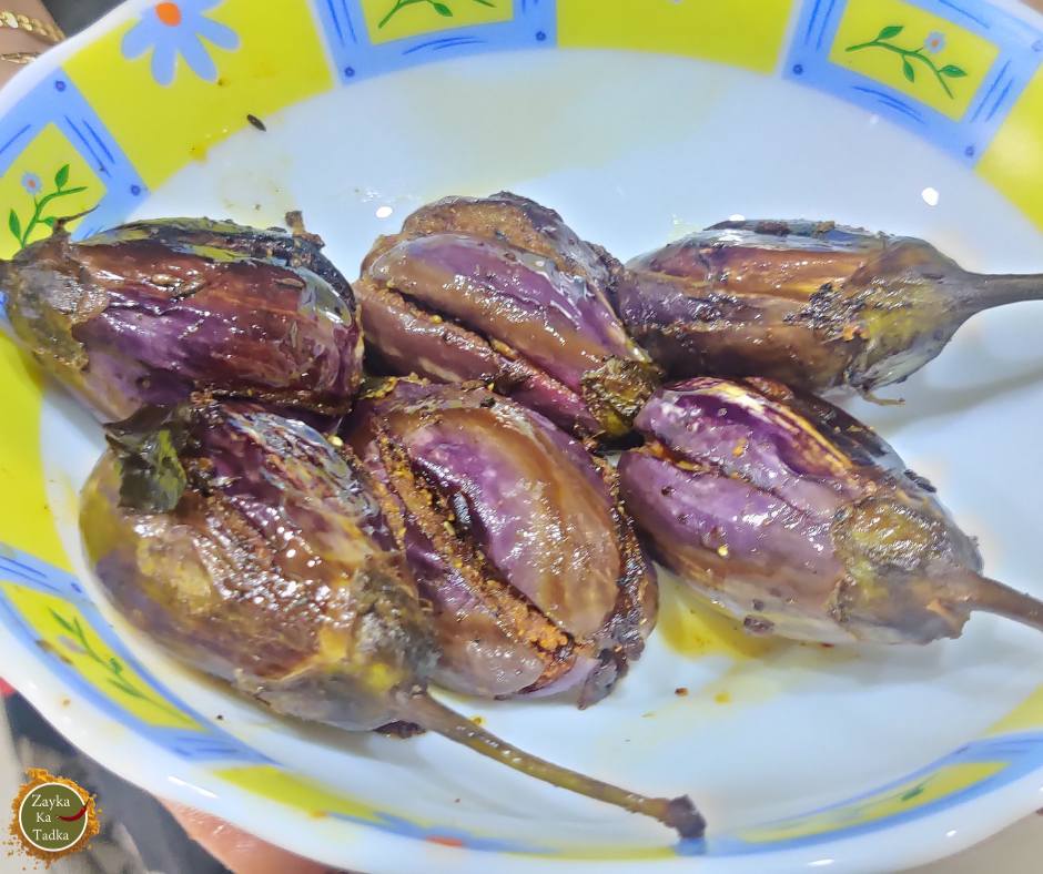Stuffed Brinjal Sabji | Gutti Vankaya Sabji Recipe
