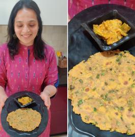 Hara Pyaz Paratha | Spring Onion Paratha Recipe