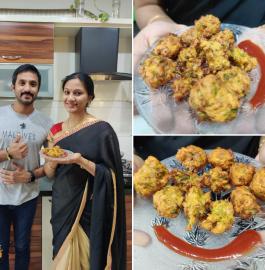 Pyaz Bajji | Onion Bajji Recipe