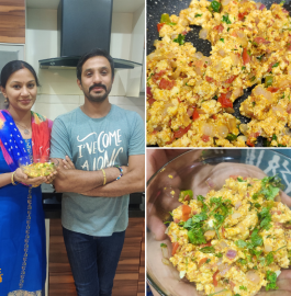 Paneer Bhurji | Spiced Crumbled Cottage Cheese Recipe