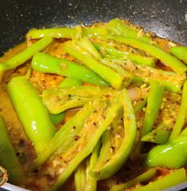 Dahi Wali Mirchi | Dahi Mirch Sabji Recipe